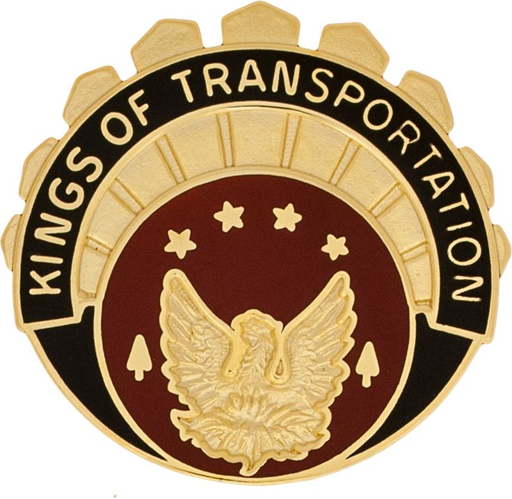 1120th Transportation Bn Unit Crest (Kings Of Transportation)