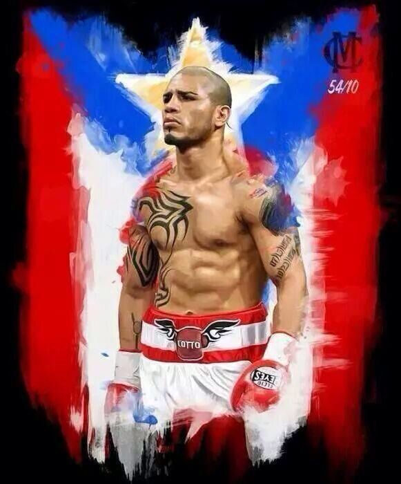 Miguel Cotto es mi favorito. ✌