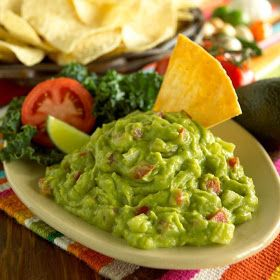 """Abuelo's Guacamole - 1 lb. Fresh Avocados; 2 TBS of fine diced onion;   ¼ cup of seeded tomatoes, diced ¼"""";   1/8 tsp granulated garlic; 1 TBSP fresh squeezed lime juice; Salt to taste"""