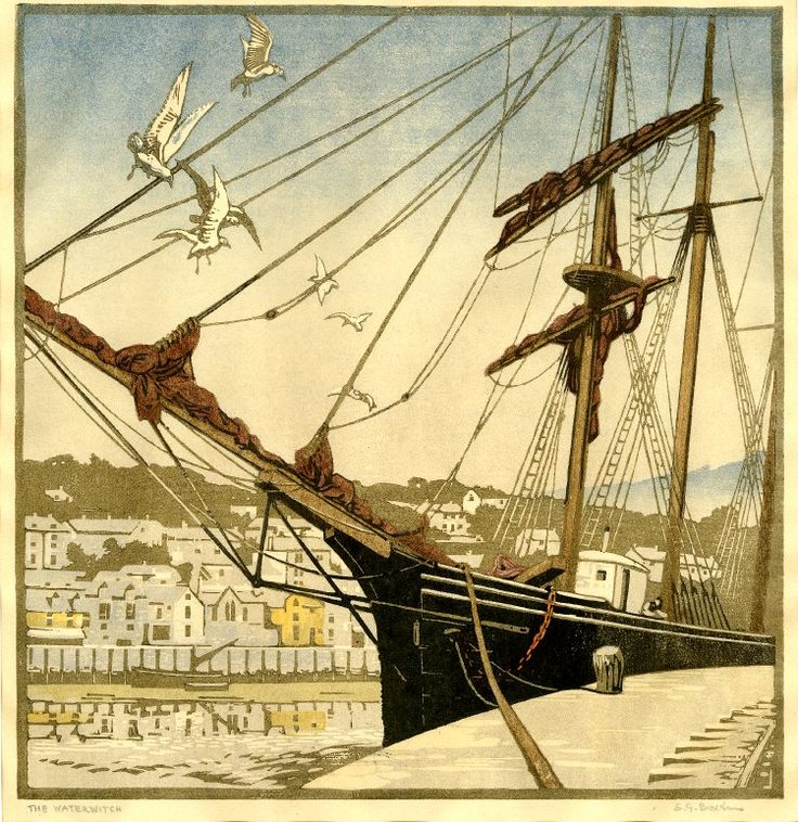 Modern Printmakers: Sylvan Boxsius 'The Waterwitch'