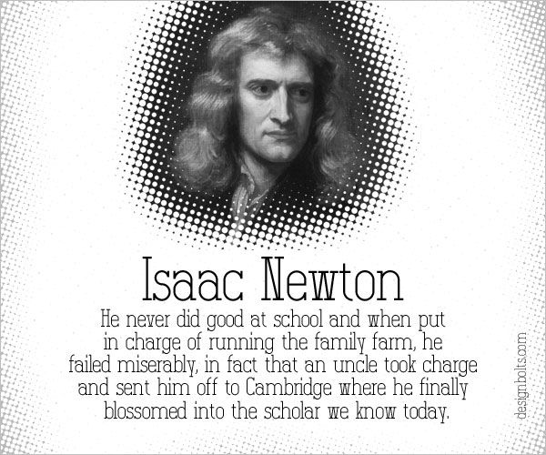 Isaac Newton Famous Failure Failure Stories Behind The ...