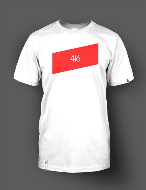 T-shirt adulte 416 wear - Rectangle