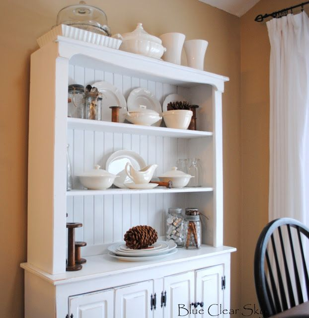 White Buffet Cabinet Loving It The White Ties In So Nicely With Our White Kitchen