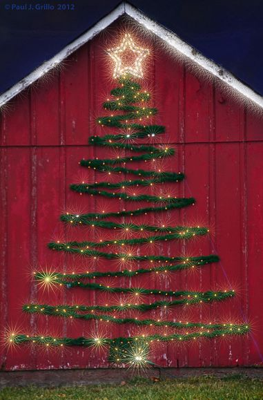 Ah, one day ☺️ | Christmas Tree On The Barn