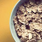 Calories du muesli, des flocons d'avoine et céréales