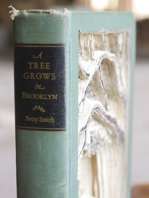 A Tree Grows in Brooklyn. My mom gave me her copy from the 60s.  It's one of my prized possessions.