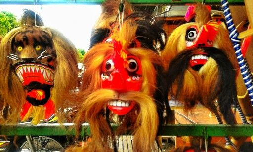 The varian of reog mask