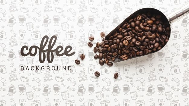 Download Simple Wallpaper With Coffee Beans For Free Coffee Wallpaper Coffee Wallpaper Iphone Coffee Vector Coffee house wallpaper free download