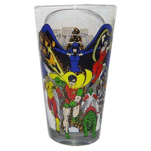 (affiliate link) Teen Titans Toon Tumbler Pint Glass
