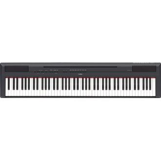 Yamaha P115. THE piano I need. Portable. I would need a quick fold up stand and a pedal attachment