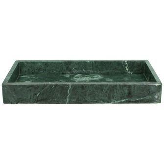 Dienblad marmer groen 4x30x15 cm | Dienbladen | Woonaccessoires | Meubelen | KARWEI