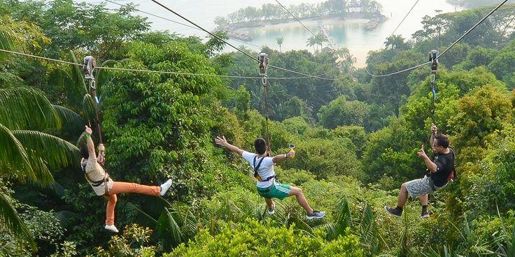Singapore Attractions at Sentosa Island