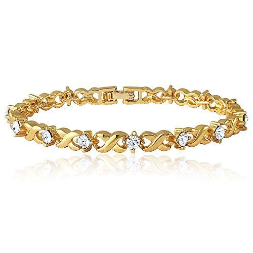 Stone: Crystal Metal : Brass Alloy Plating : 24K Gold Plated