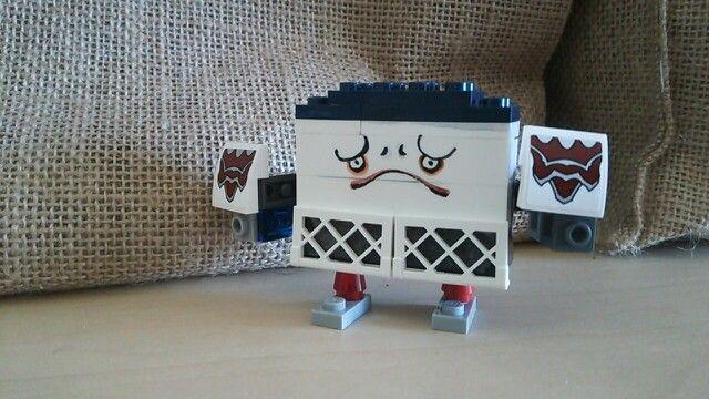 妖怪ウォッチ  ムリ壁♪ キッズがLEGOで作ってくれました。