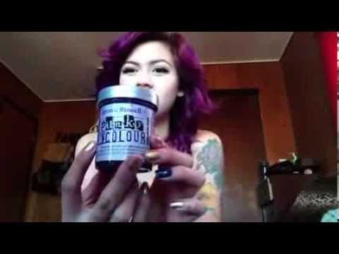 Jerome Russell punky color review - YouTube