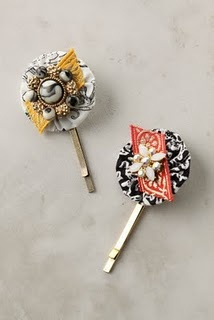 decorative bobby pins--need to make some of these!