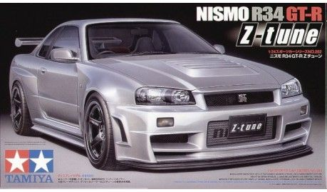Tamiya - 24282 - Maquette de voitures / Cars model kits - Nismo R34 GTR X Tune -1/24