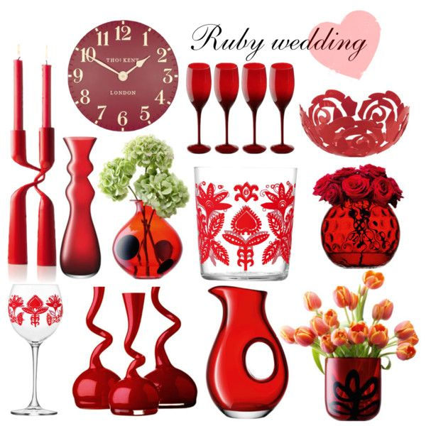 Ruby Wedding Gift Ideas Wedding Gifts, Gift ideas and Gifts