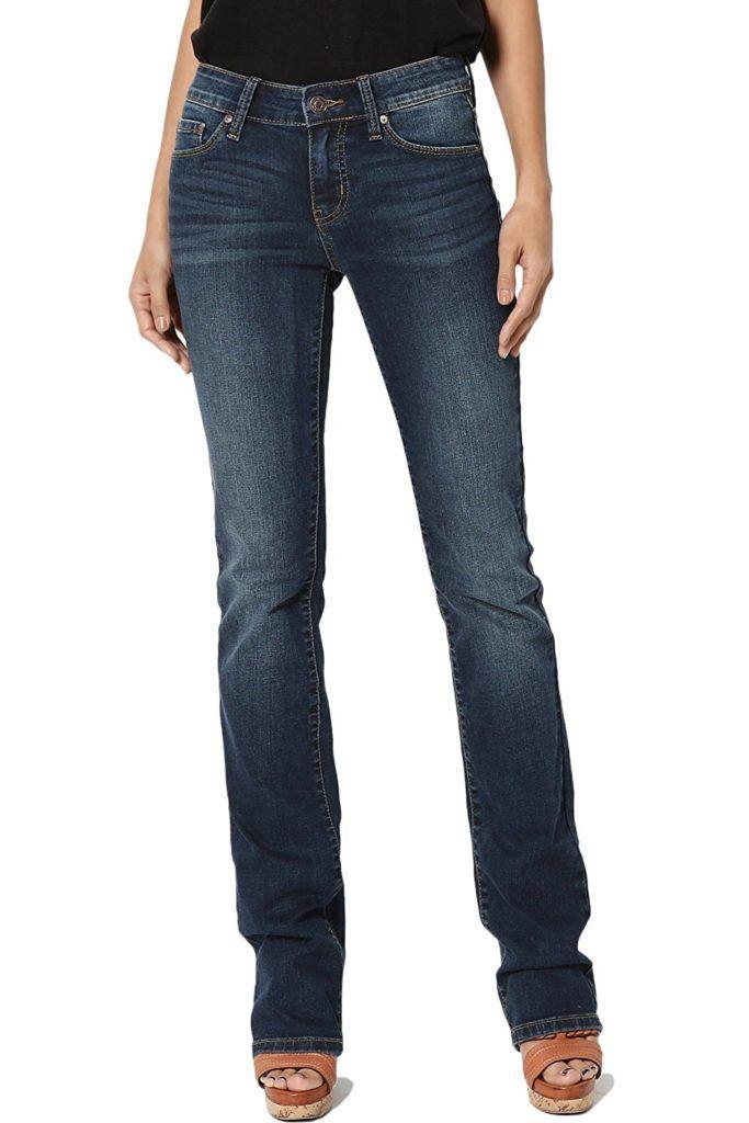TheMogan Womens Basic 5 Pocket Medium Washed Denim Skinny Jeans Premium Quality