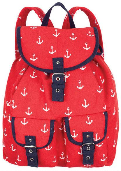 Red Anchor Messenger not something I would have .but this is so cute