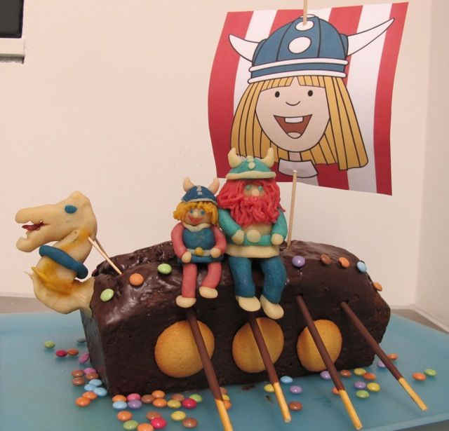 Wikinger Geburtstagskuchen