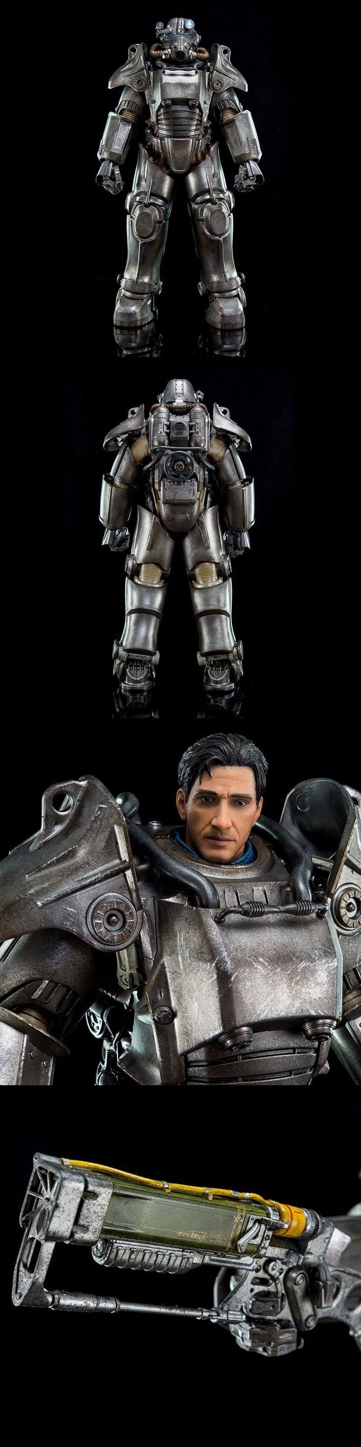TV Movie and Video Games 75708: Threezero Fallout 4 T-45 Power Armor 1:6 Scale Action Figure -> BUY IT NOW ONLY: $425.95 on eBay!