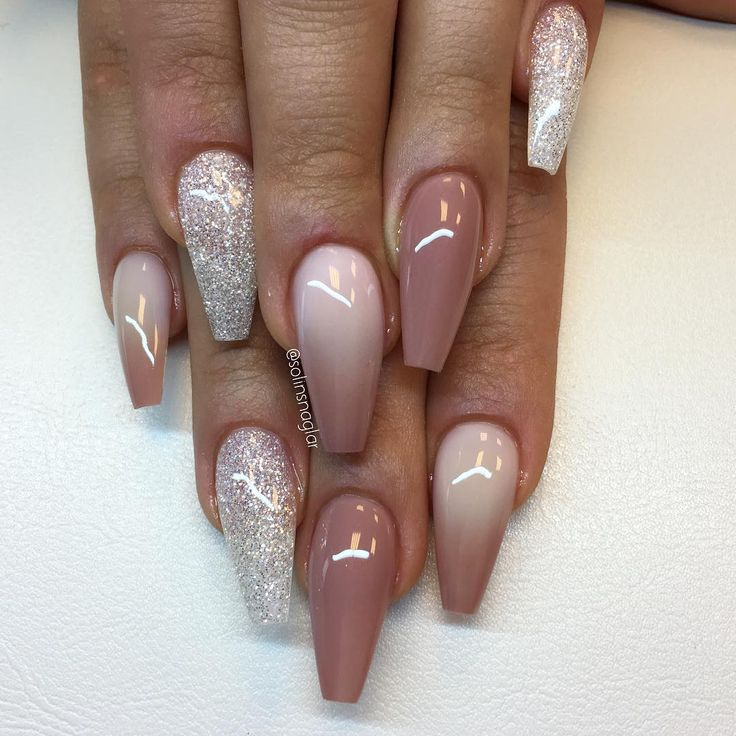 "11.5k Likes, 96 Comments - Solin Sadek (@solinsnaglar) on Instagram: ""Ombre (frosted/""naked"") och Diamond"""