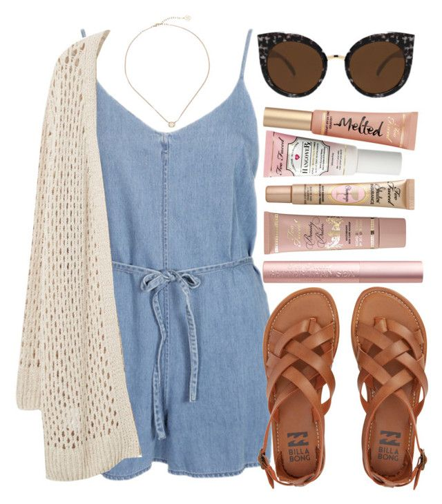 """Cute cardigans"" by anna198913 ❤ liked on Polyvore featuring Kendra Scott, Violeta by Mango, Quay, Billabong, Power of Makeup, cutecardigan and springlayers"