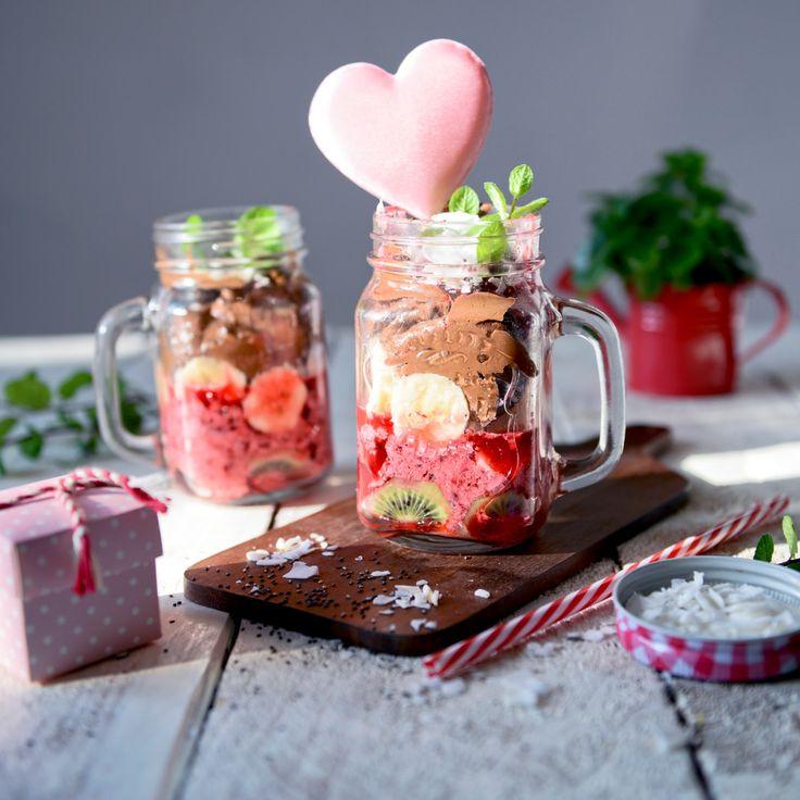 Delicious walentine deser! Check more www.spektrumsmaku.pl