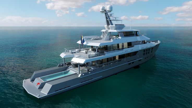 Expedition yachts expedition yacht star fish aquos for Deep sea fishing boat for sale