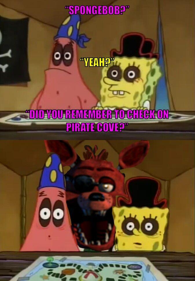 bobsponja si? tu recordaste mirar la Pirate Cove?