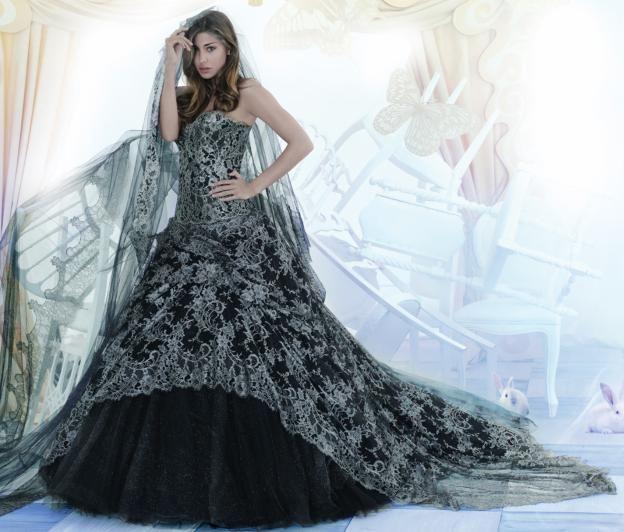 Vestiti da sposa nero