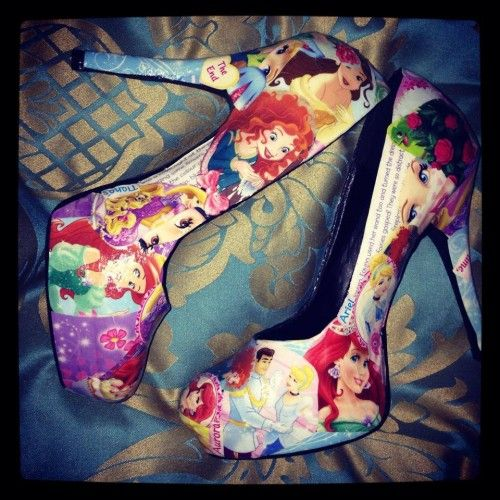 disney princess pumps shoe | Product Code: Disney Princess High Heels