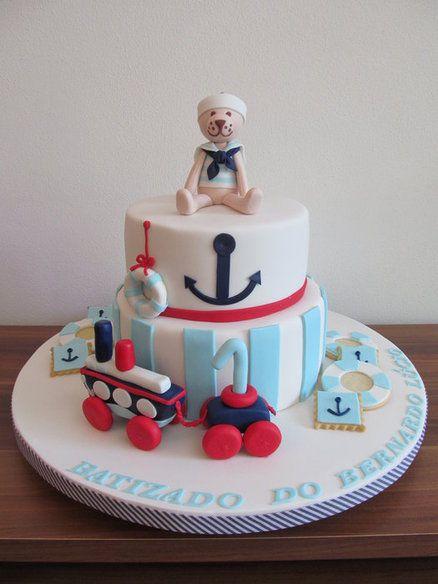 Nautical Cake Decorations Uk : 1000+ images about Nautical Cakes on Pinterest Sailor ...