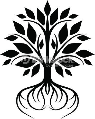 Tree With Roots Ii Vector Art | Thinkstock