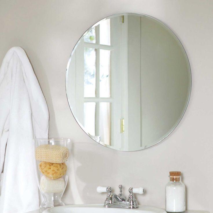 bathroom amazing inspiration ideas oval bathroom mirror near window over modern bathroom sink with glamour