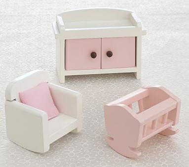 Dollhouse Nursery Accessory Set #pbkids