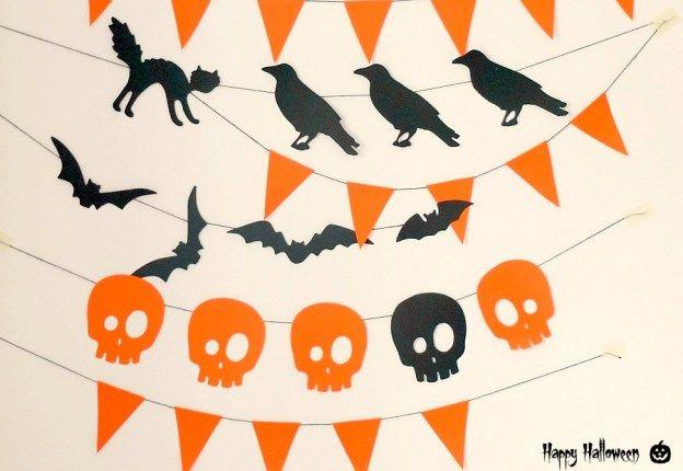 Гирлянда на Хэллоуин