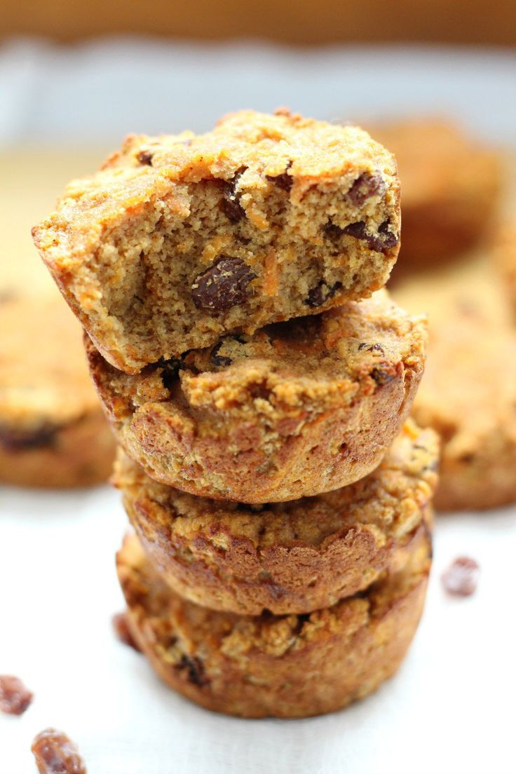 Coconut flour carrot raisin muffins that are nut free, paleo, dairy free, grain free, moist and perfectly sweetly spiced!