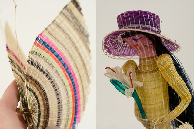 [Karen Barbé · Textile designer · Horse hair crafts from Rari, Chile]