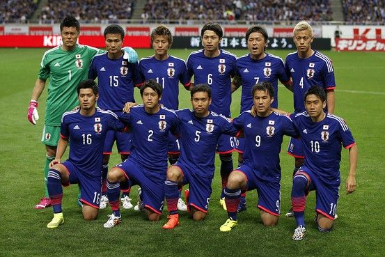 Japanese national football team in 2014 http://www.fifa.com/worldcup/teams/team=43819/players.html