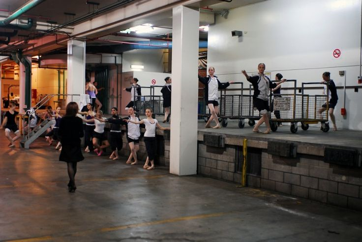 BA2840/4: Youth Ballet W.A. from Terry Charlesworth Ballet Academy warming up for a performance in the Forrest Chase car park, November 2007.  http://encore.slwa.wa.gov.au/iii/encore/record/C__Rb4832417__Sba2840Lw%3D%3D3__Orightresult__U__X3?lang=eng&suite=def