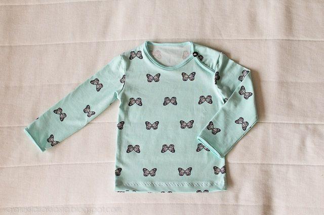 A shirt, the lovely fabric by Nosh Organics