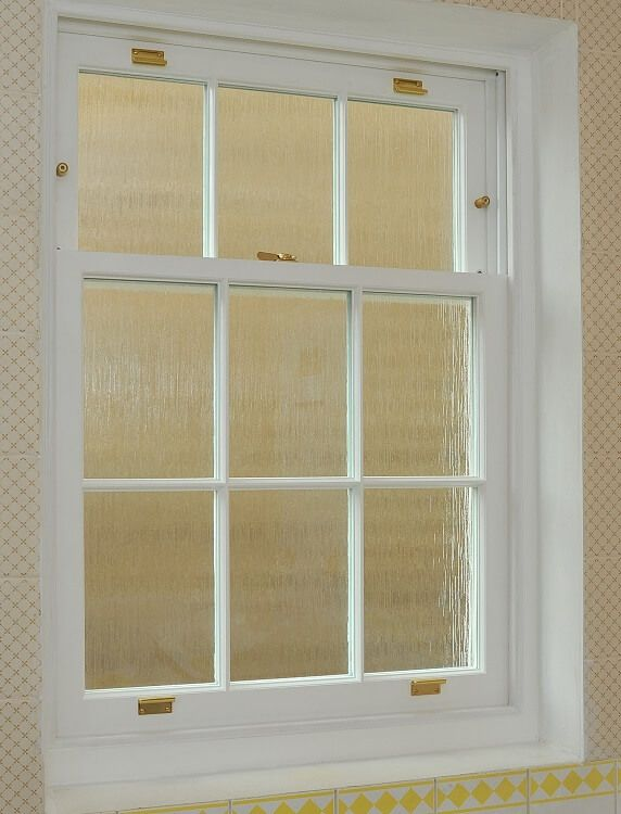 Timber sash window manufactured and installed by The Sash Window Workshop #bespoke
