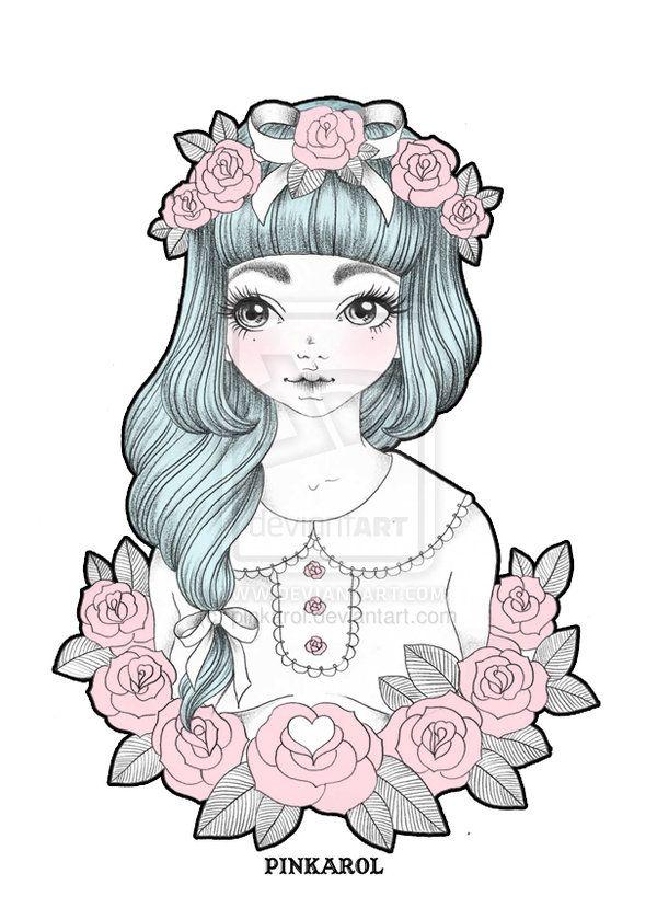 Little Girl by pinkarol.deviantart.com on @deviantART