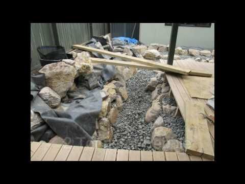 Turtle, Fish Pond. The Construction