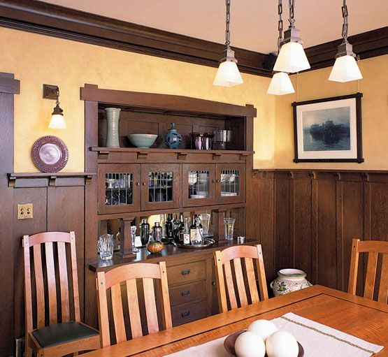 Dining Rooms With Wainscoting: 178 Best Home. Decor. Arts & Crafts Images On Pinterest