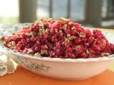 Trisha Yearwood's Cranberry-Orange Relish Recipe...great as a side and also as a condiment on turkey sandwiches. Be sure to drain the extra liquid...