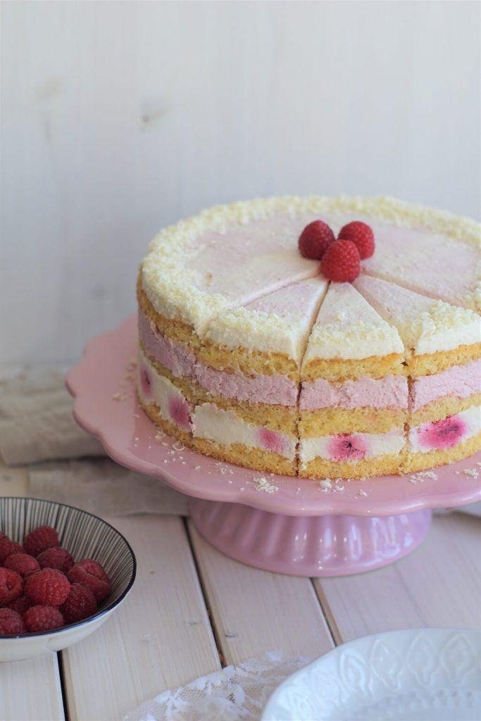Himbeerjoghurtkuchen mit weißer Schokolade   – Food!!!