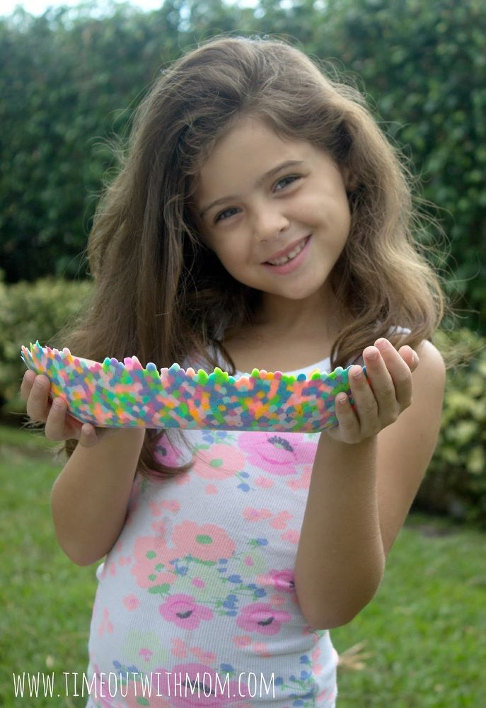 Kids Craft: Perler Bead Bowl